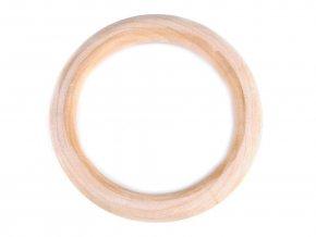 Dřevěný kroužek Ø110mm (1ks) - buk