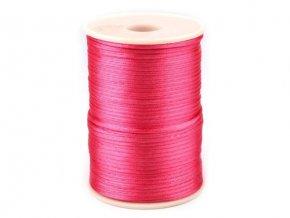 Saténová šňůra pr.2mm (10m) - pink