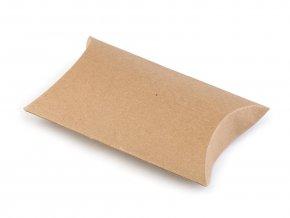 Papírová krabička 7,5 x 12,5 cm - natural (2ks)