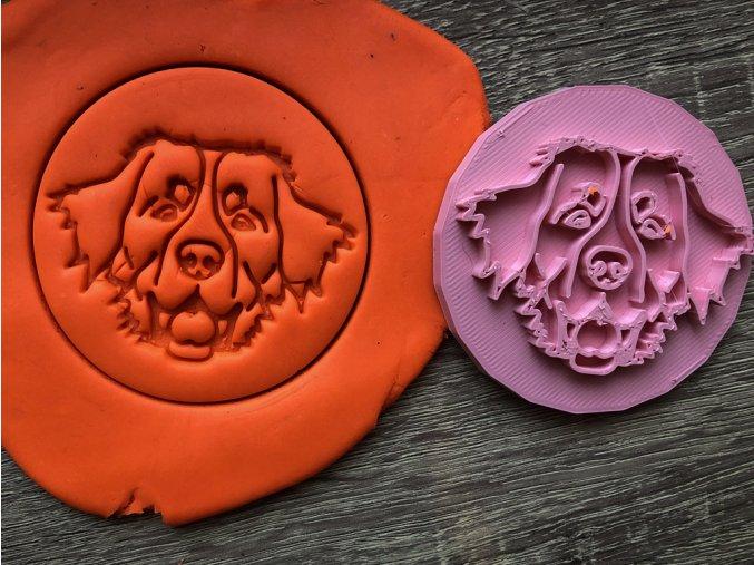 Bernský salašnický pes I - razítko