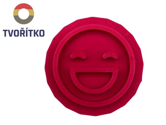 vychlámaný emoji