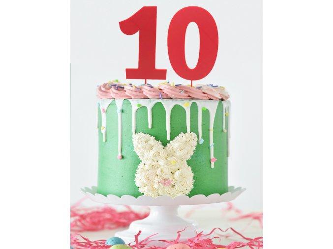 čísla dort