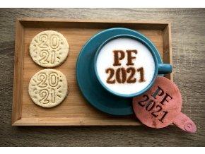 PF 2021 - šablona na kávu