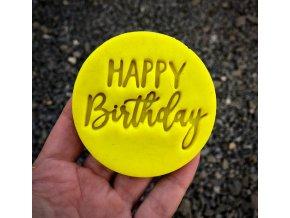 Happy Birthday II - razítko