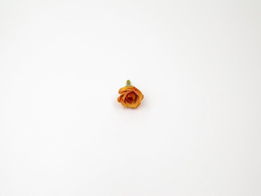 Růže 002 oranžová