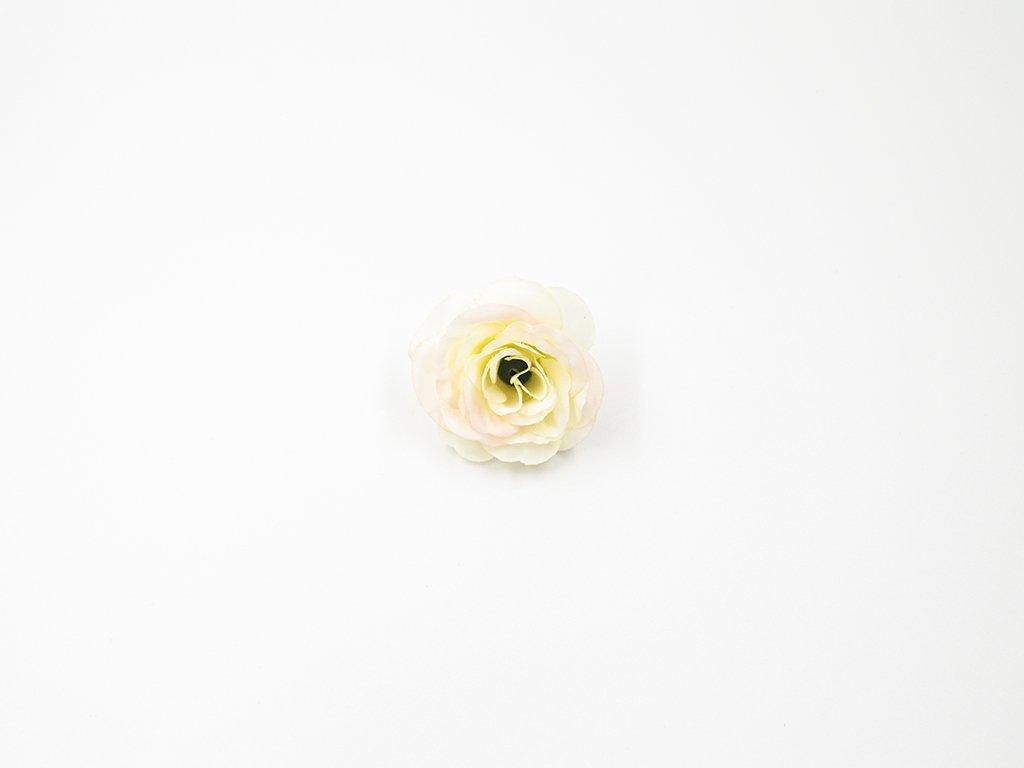 Růže 011 smetanová