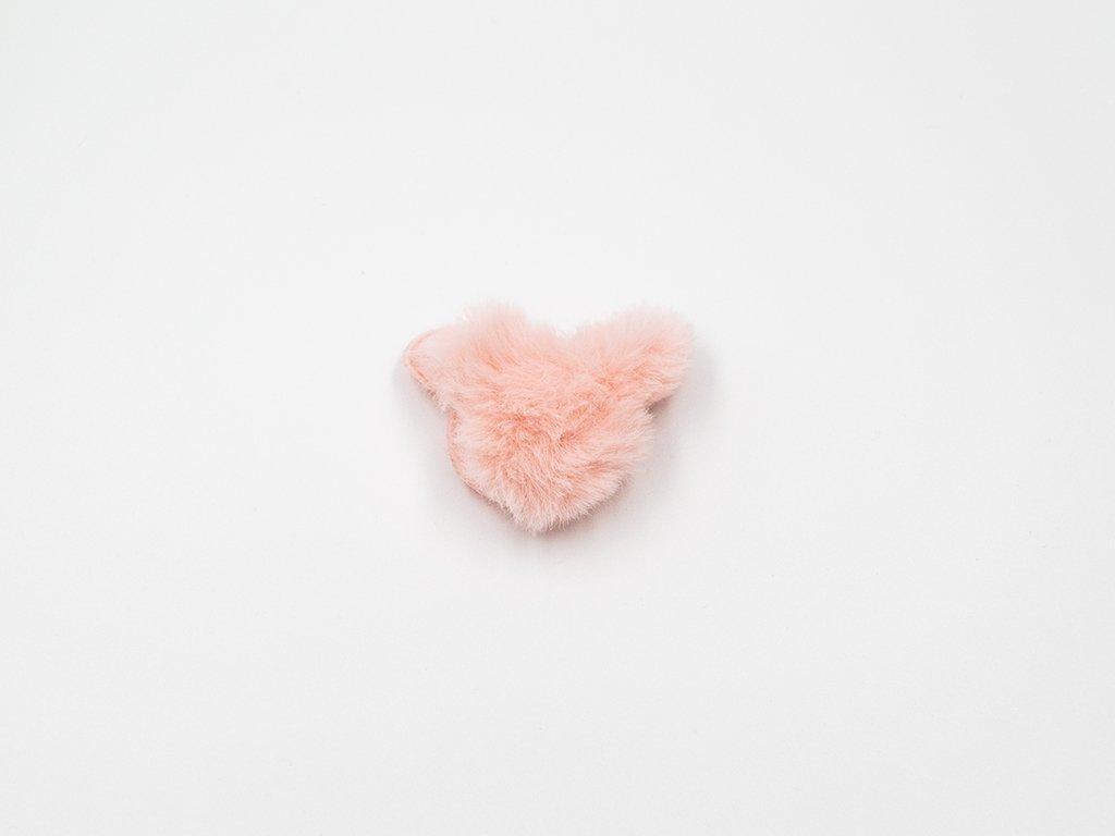 Medvěd plyš růžový