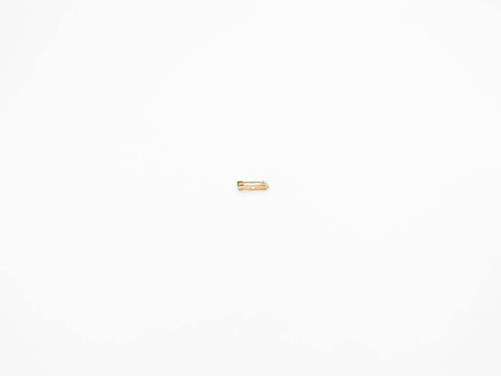Brož můstek malý zlatý