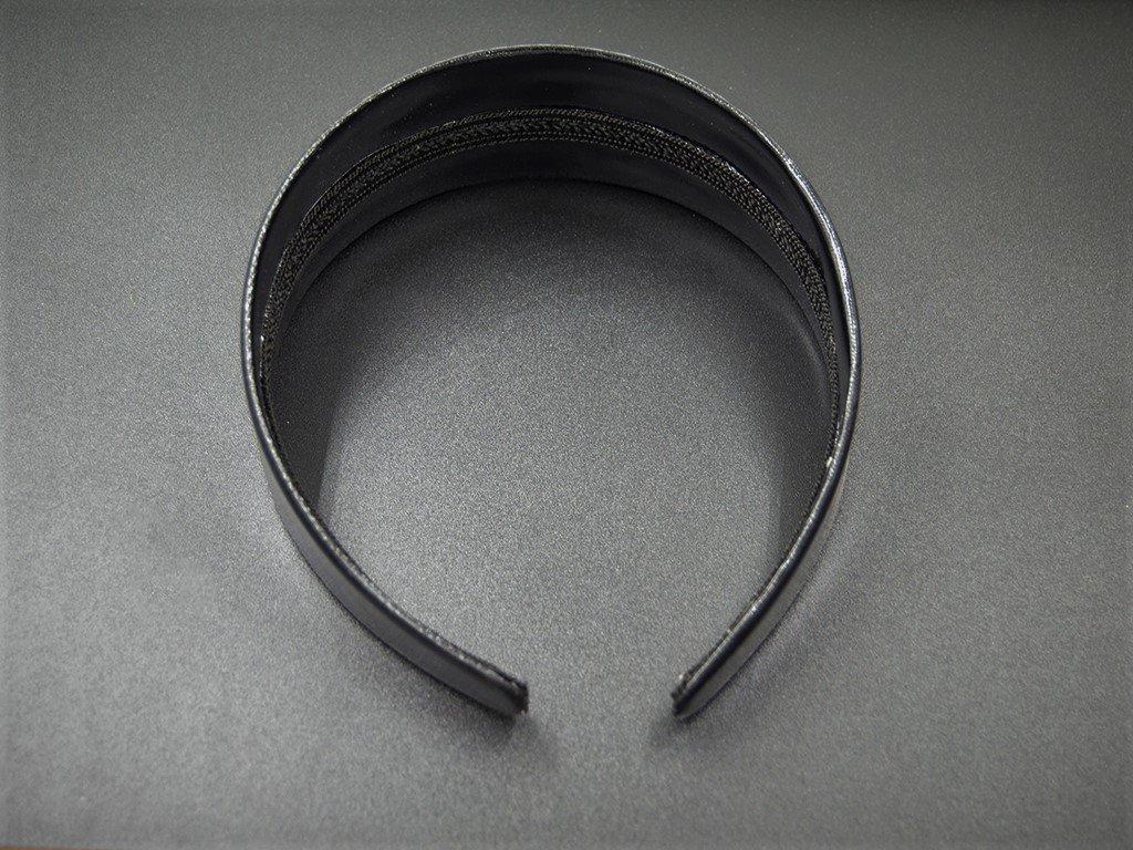 Čelenka pevná široká černá