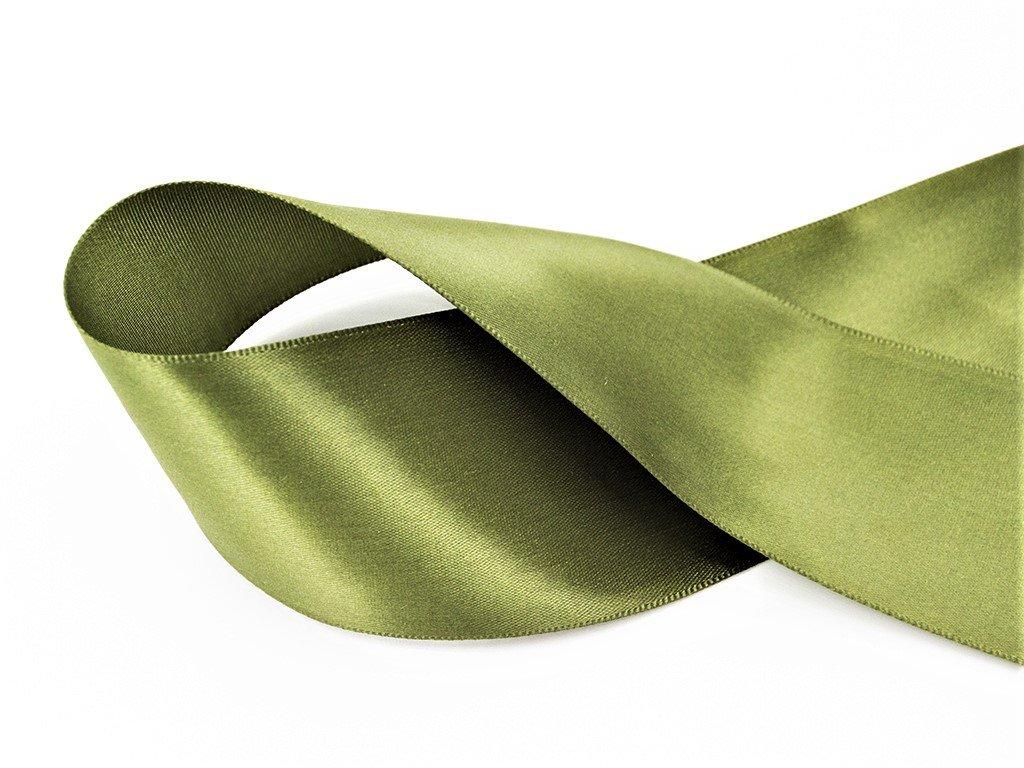 Stuha satén zelená 1,8 cm