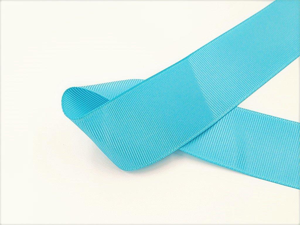 Stuha taftová blankytně modrá 3,8 cm