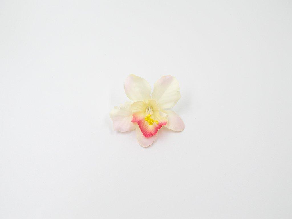 Orchidej 001 růžovo bílá