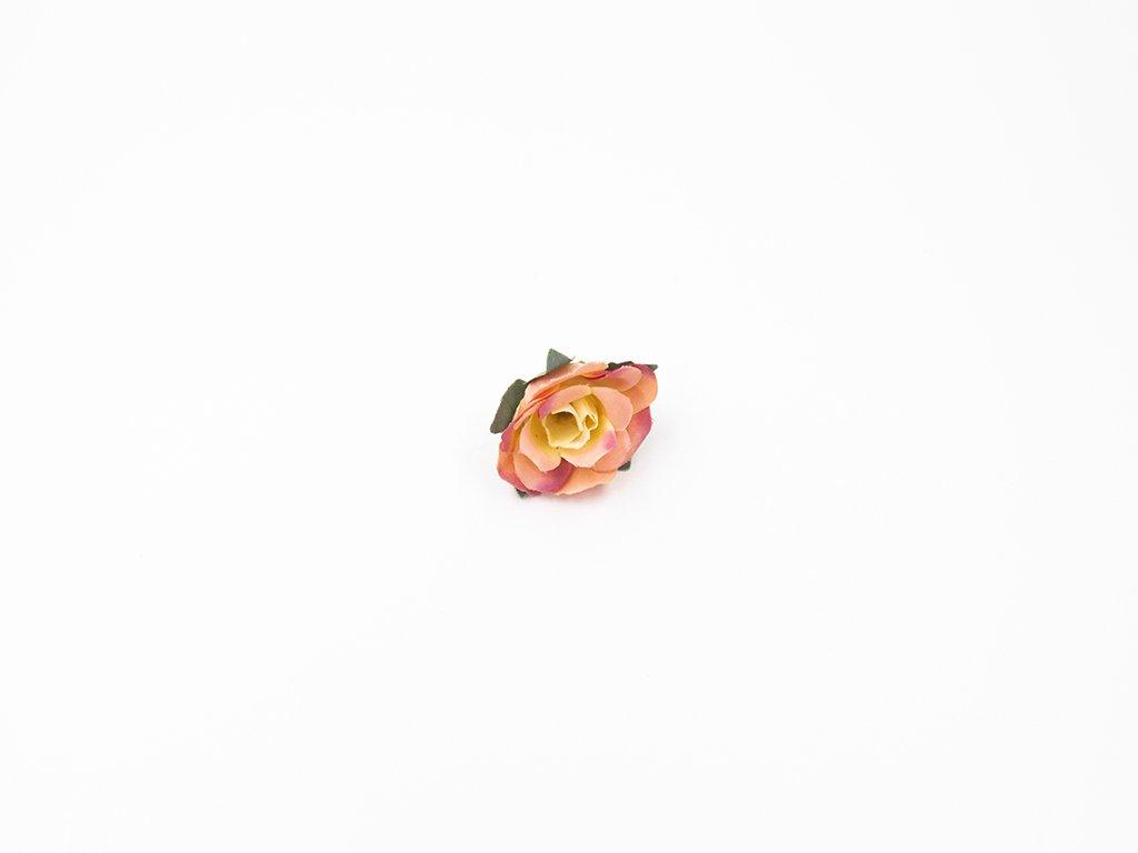 Růže 004 růžovo žlutá