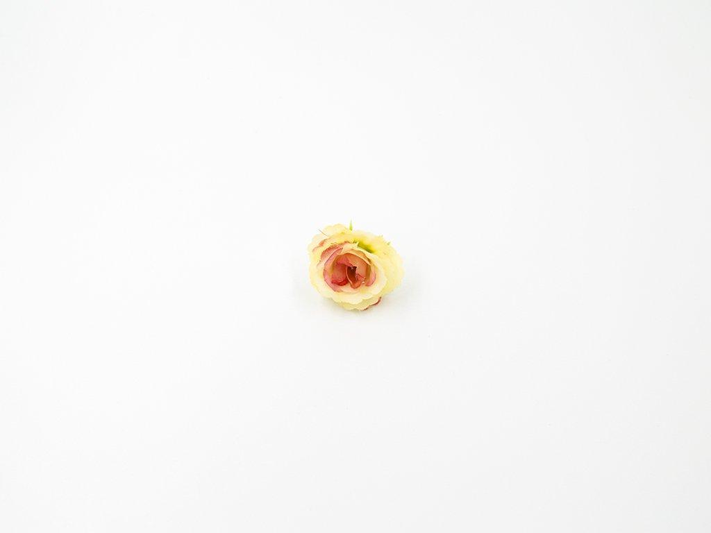Růže 005 růžovo žlutá