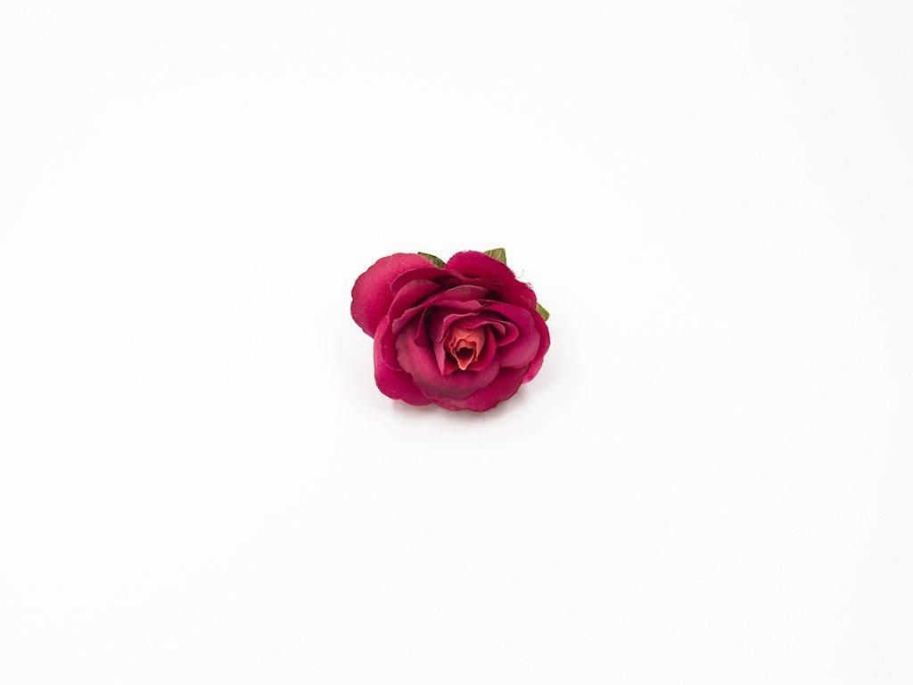 Růže 015 tmavá fuchsie