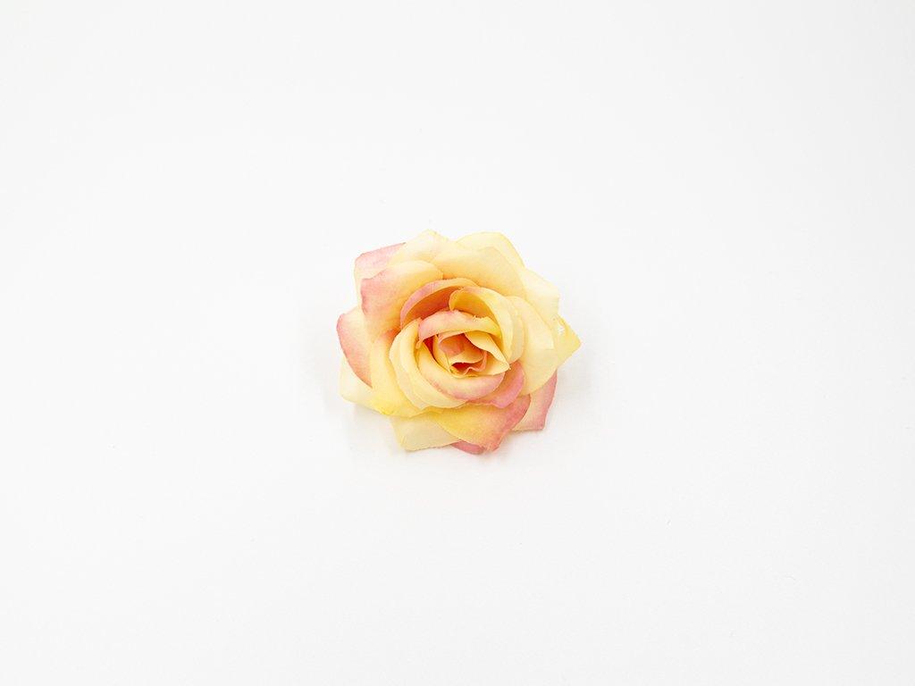 Růže 020 růžovo žlutá