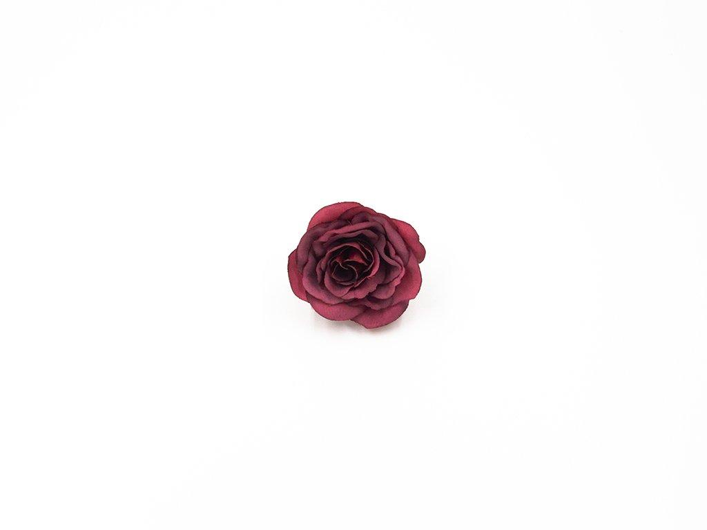 Růže 011 vínová