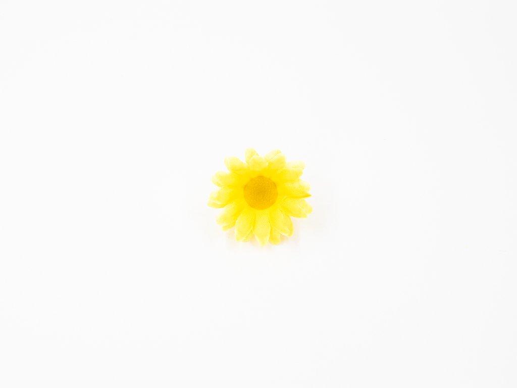 Kopretina 002 žlutá