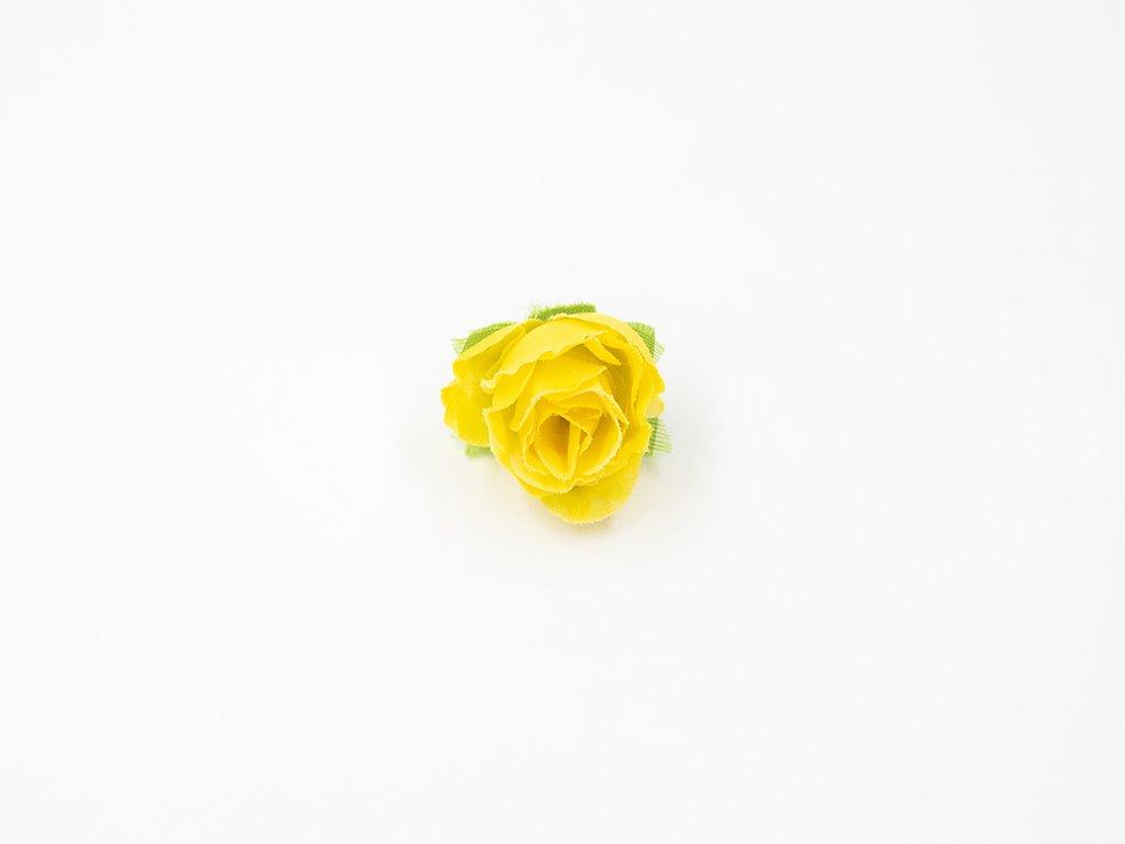 Růže 003 žlutá