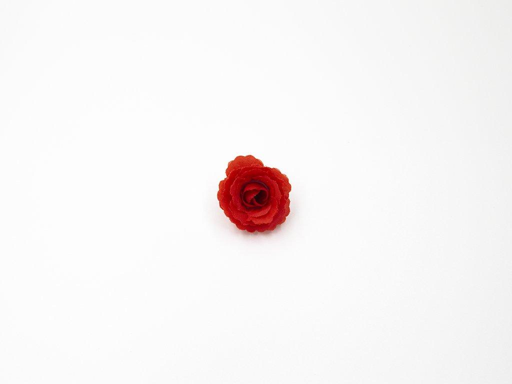 Růže 005 čevená