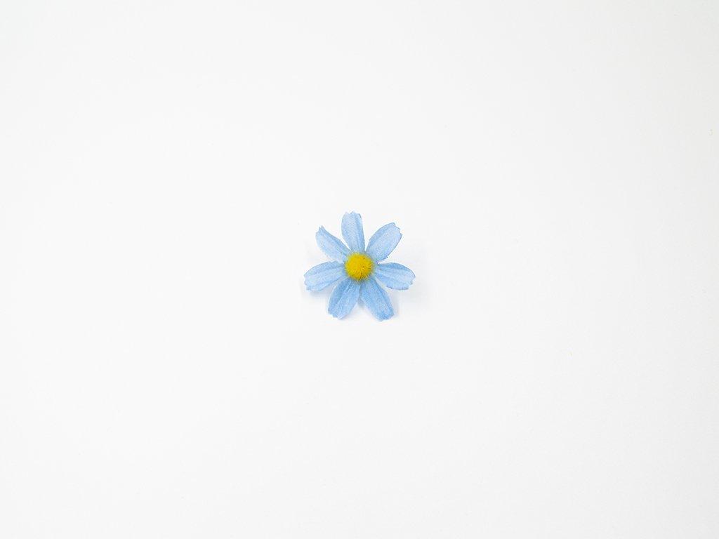 Kopretina 001 modrá