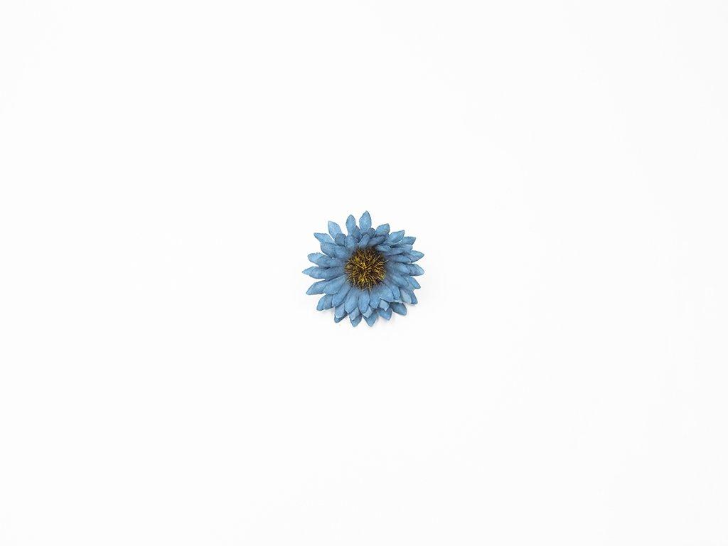 Kopretina 004 modrá