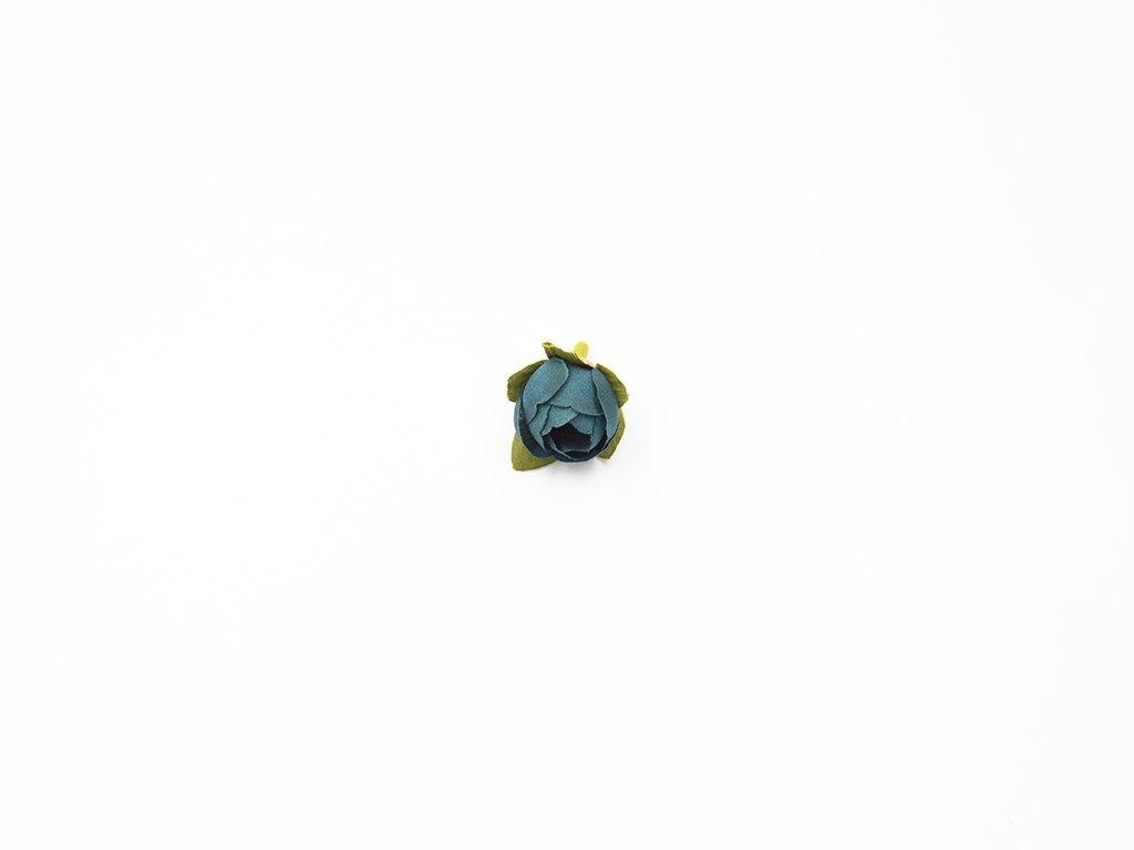Růže 001 modro zelená