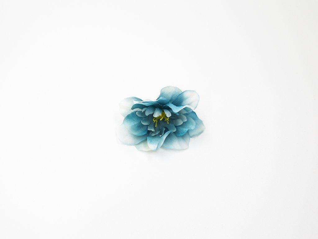 Kamélie 002 tmavě modrá
