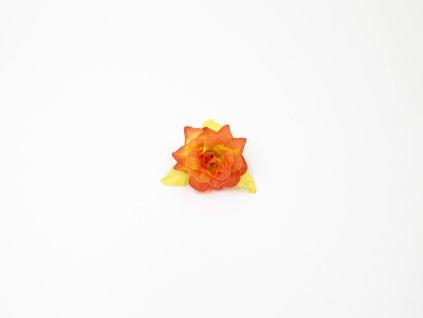 Růže 008 oranžová