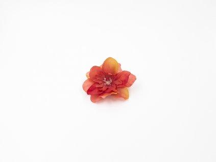 Kamélie 002 tmavě oranžová