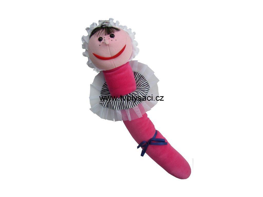 Plyšová Žížala Jůlie maňásek 70cm - plyšové hračky