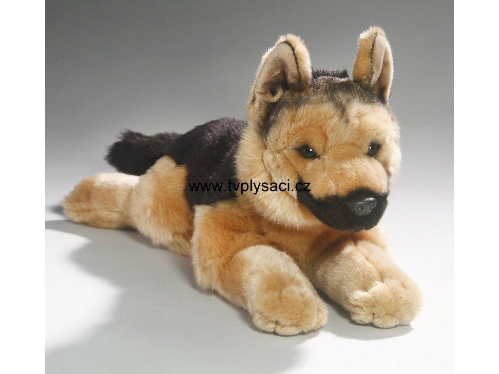 Plyšový německý ovčák 42 cm - plyšové hračky