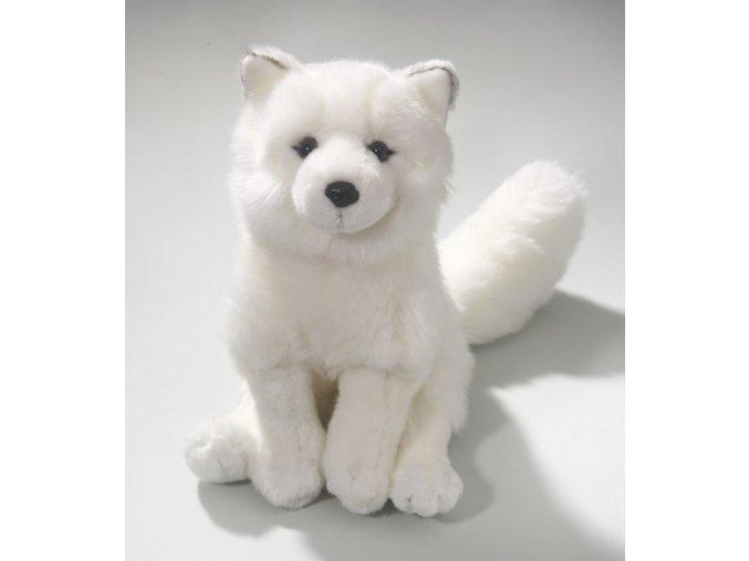 Plyšová liška polární 28 cm - plyšové hračky