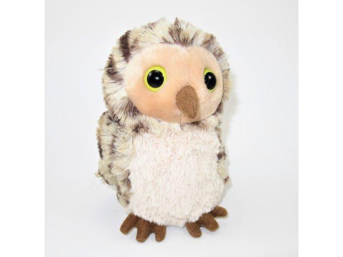 Plyšová sova puštík 20 cm - plyšové hračky