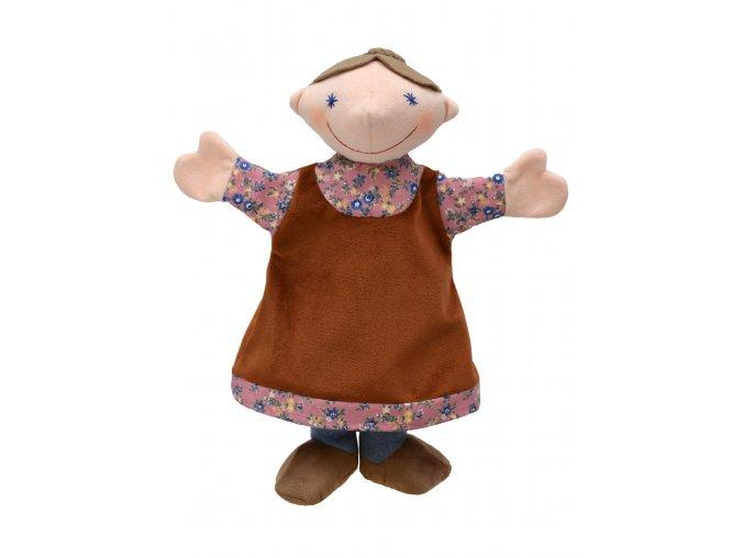 Plyšová babička maňásek 33cm - plyšové hračky