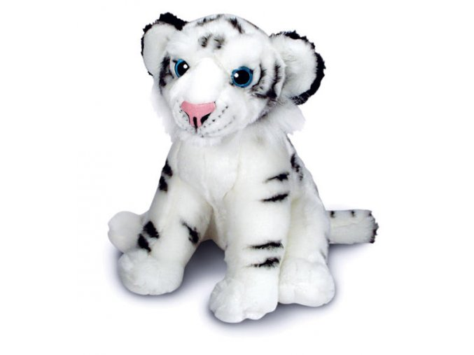 Plyšový tygr bílý 30 cm - plyšové hračky