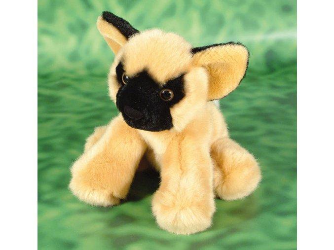 Plyšový pes divoký 17cm - plyšové hračky