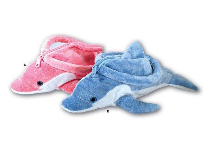 Plyšový delfín taška 38cm - plyšové hračky