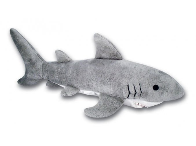 Plyšový žralok 43 cm - plyšové hračky