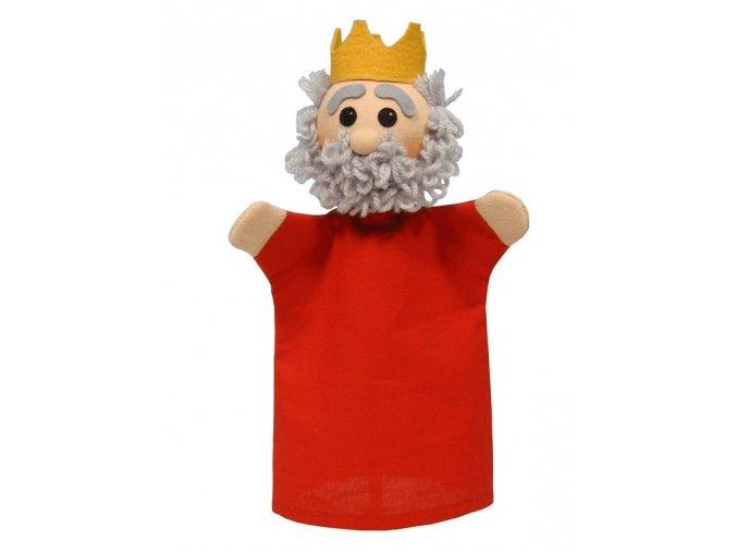 Maňásek král 28cm - maňásci