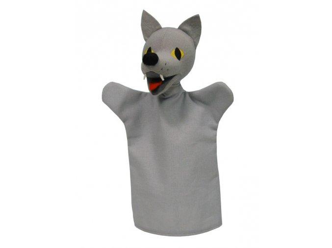 Maňásek vlk 28cm - maňásci