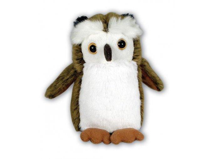 Plyšová sova Štěpánka 15 cm - plyšové hračky