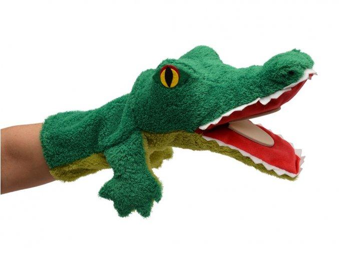 Maňásek krokodýl 38cm - maňásci