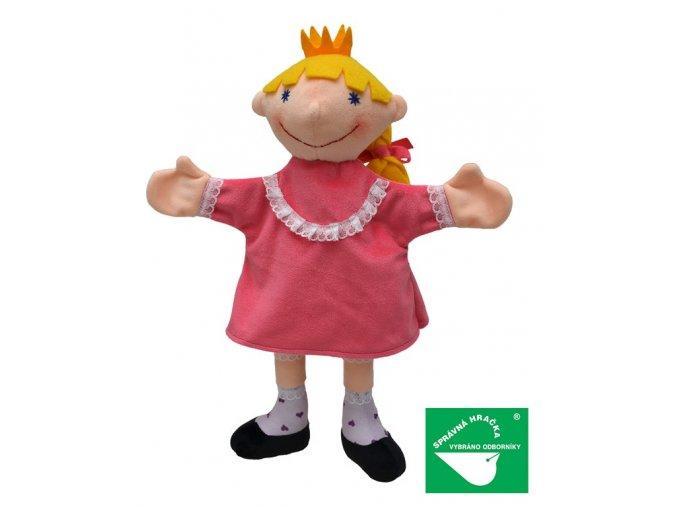 Maňásek princezna 36cm - maňásci