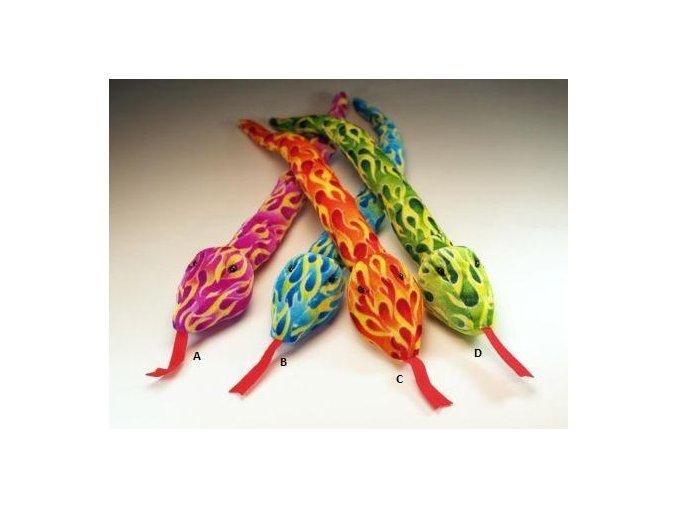 Plyšový had 62 cm - plyšové hračky