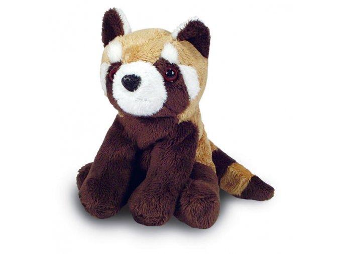 Plyšová panda červená 14 cm - plyšové hračky