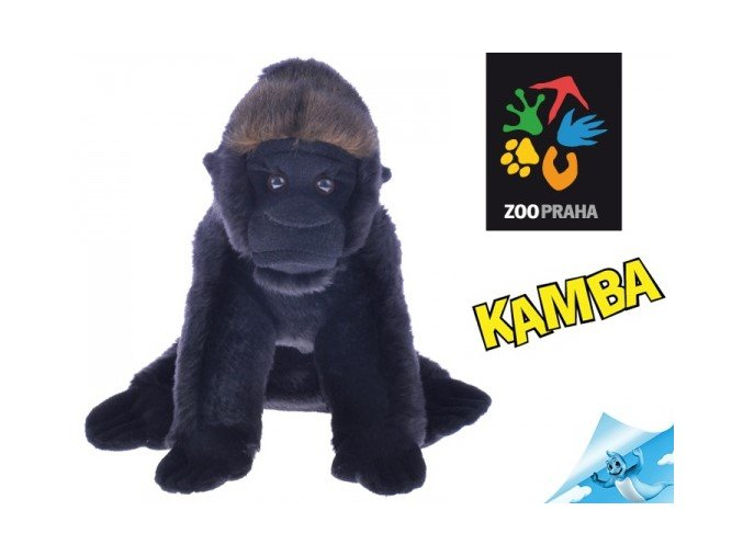 Plyšová gorila Kamba 25 cm - plyšové hračky