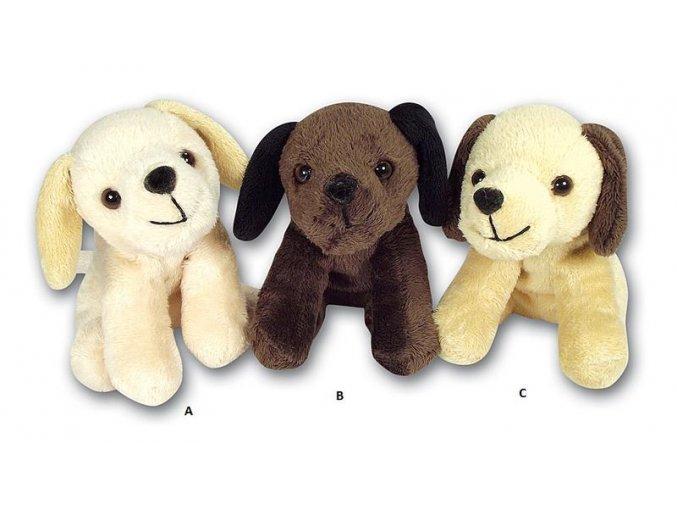 Plyšový pes 13 cm - plyšové hračky