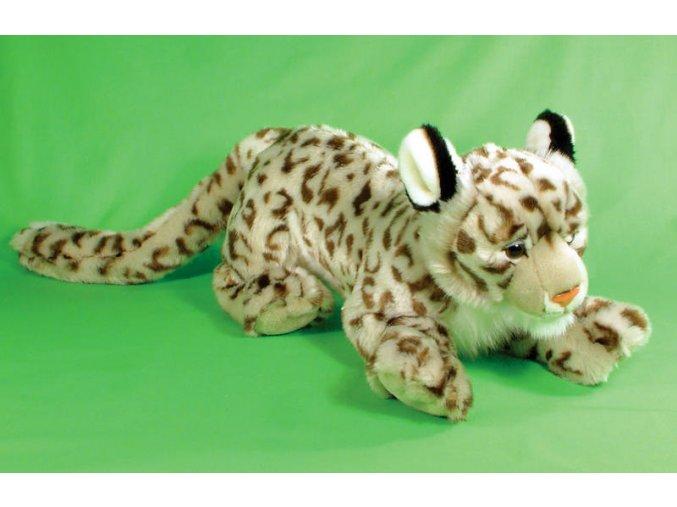 Plyšový leopard sněžný 42 cm - plyšové hračky