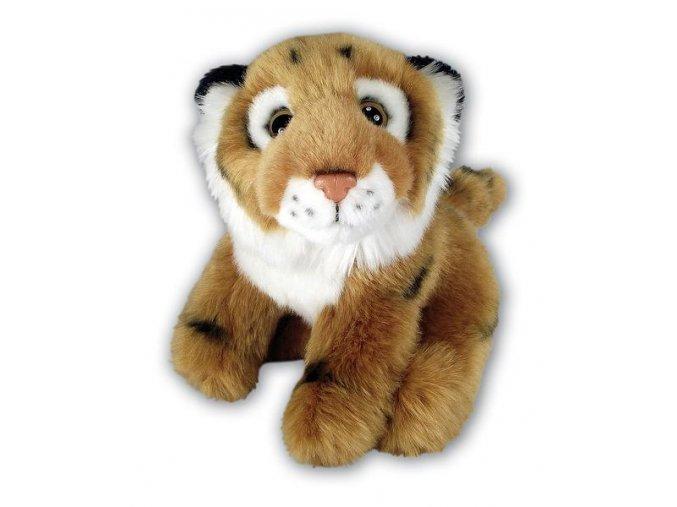 Plyšový tygr hnědý 16 cm - plyšové hračky